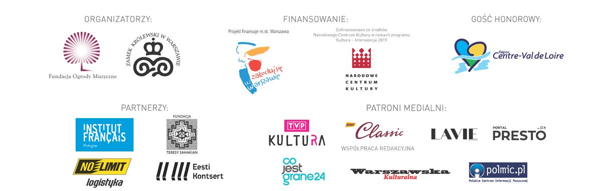 Organizatorzy Festiwalu Ogrody Muzyczne