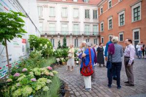 19. Festiwal Ogrody Muzycze - dekoracja kwiatowa