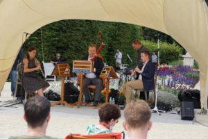 Palace Day 2020 Trio instromentów dętych wOgrodach Królewskich