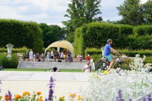 Palace Day 2020 Ogród Dolny Zamku Królewskiego wWarszawie