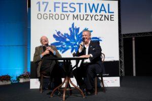 Ogrody Muzyczne w2017 r.. Spotkanie zeStanisławem Janickim